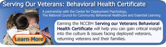 Banner Veterans Online Behavioral Health courses