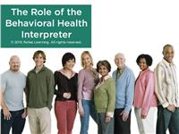 The Role of the Behavioral Health Interpreter